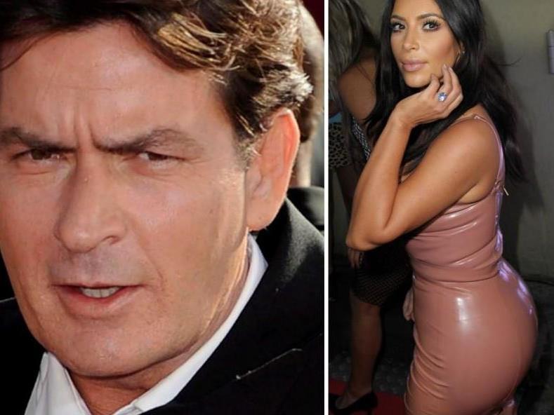 Bei Kim kommen Charlie Sheen wohl die Emotionen hoch.