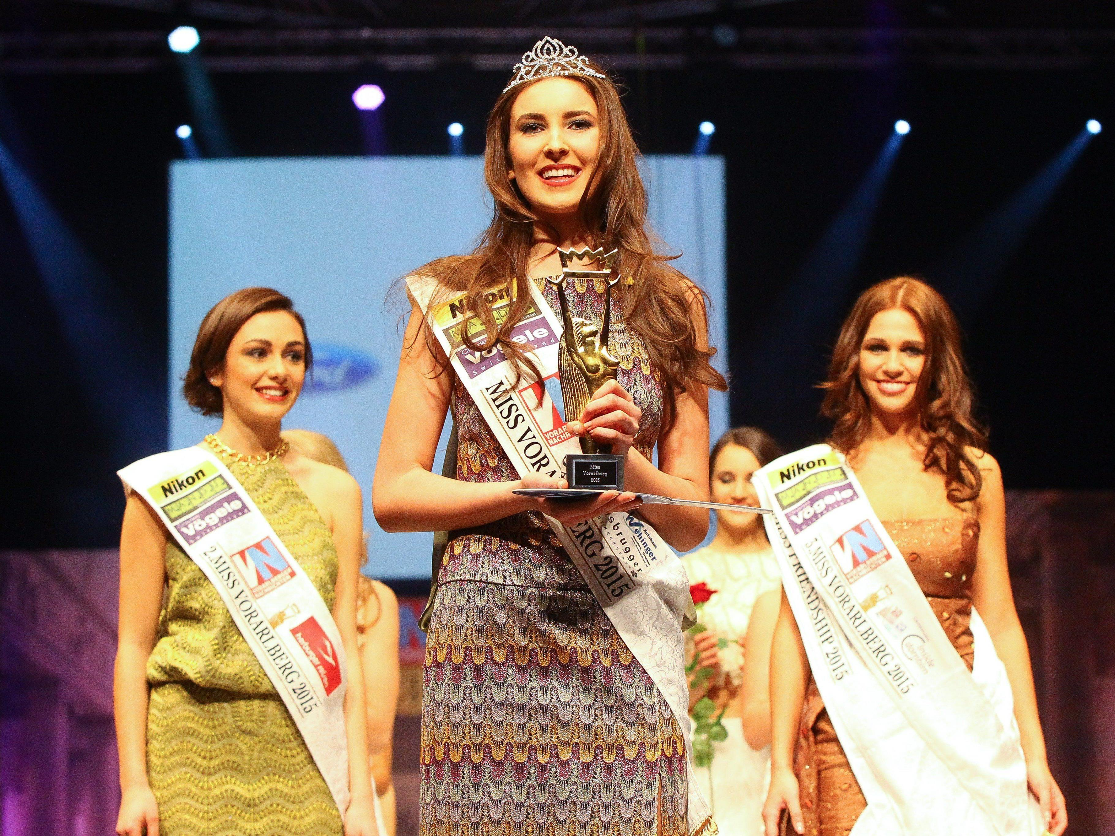 Olivera (17) aus Hohenems ist Miss Vorarlberg 2015.