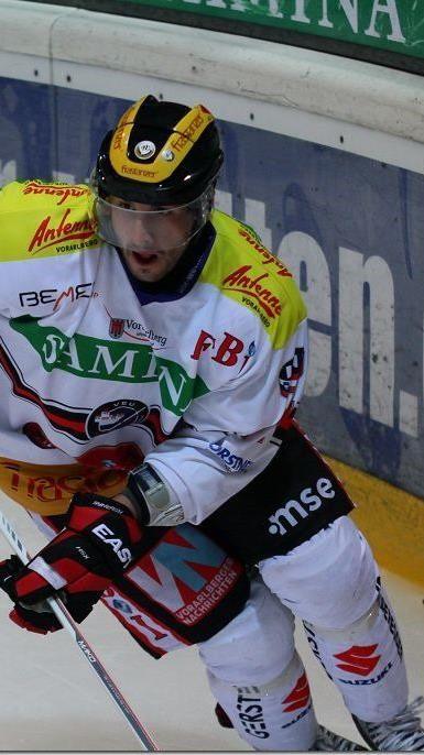 Michael Novak aus dem Kader der VEU Feldkirch suspendiert