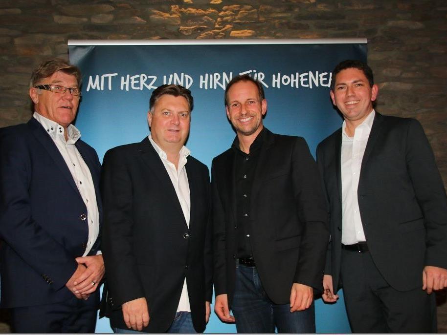 Bürgermeisterkandidat Dieter Egger kann auf eine große Unterstützung zurückgreifen