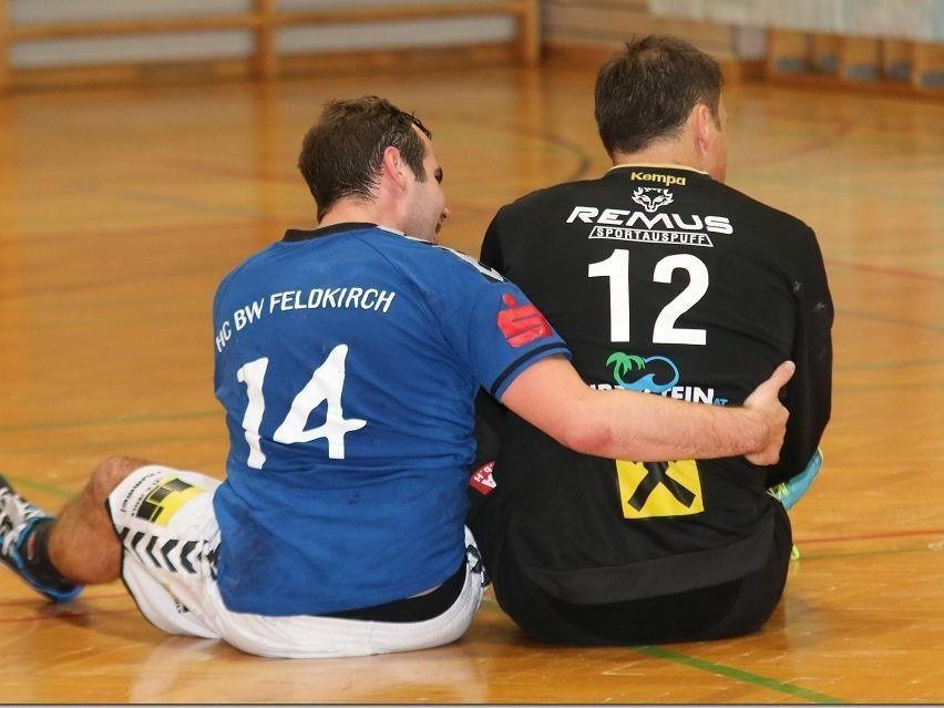 Feldkirchs Handballer kassierten beim Aufsteiger eine Klatsche