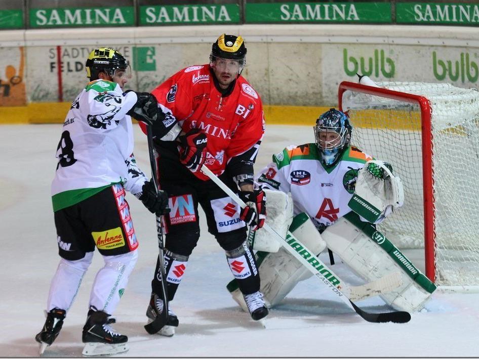 Bregenzerwald gegen Lustenau wird zuerst in der Rheinhalle gespielt.