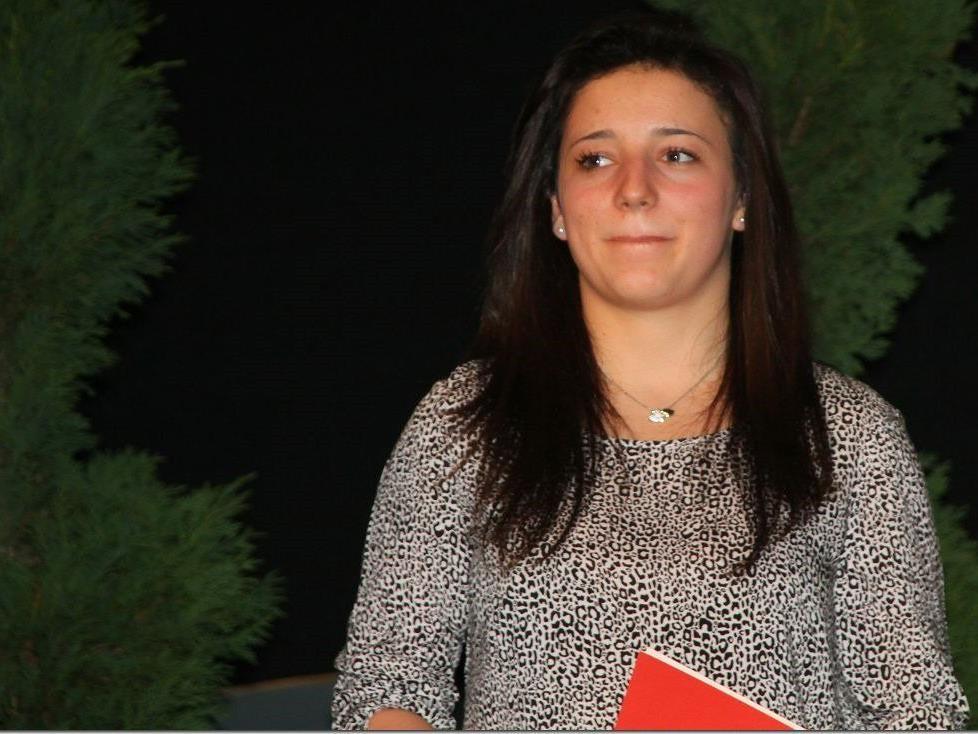 DIe Hohenemserin Pia Schmid zeigt sich in toller Form