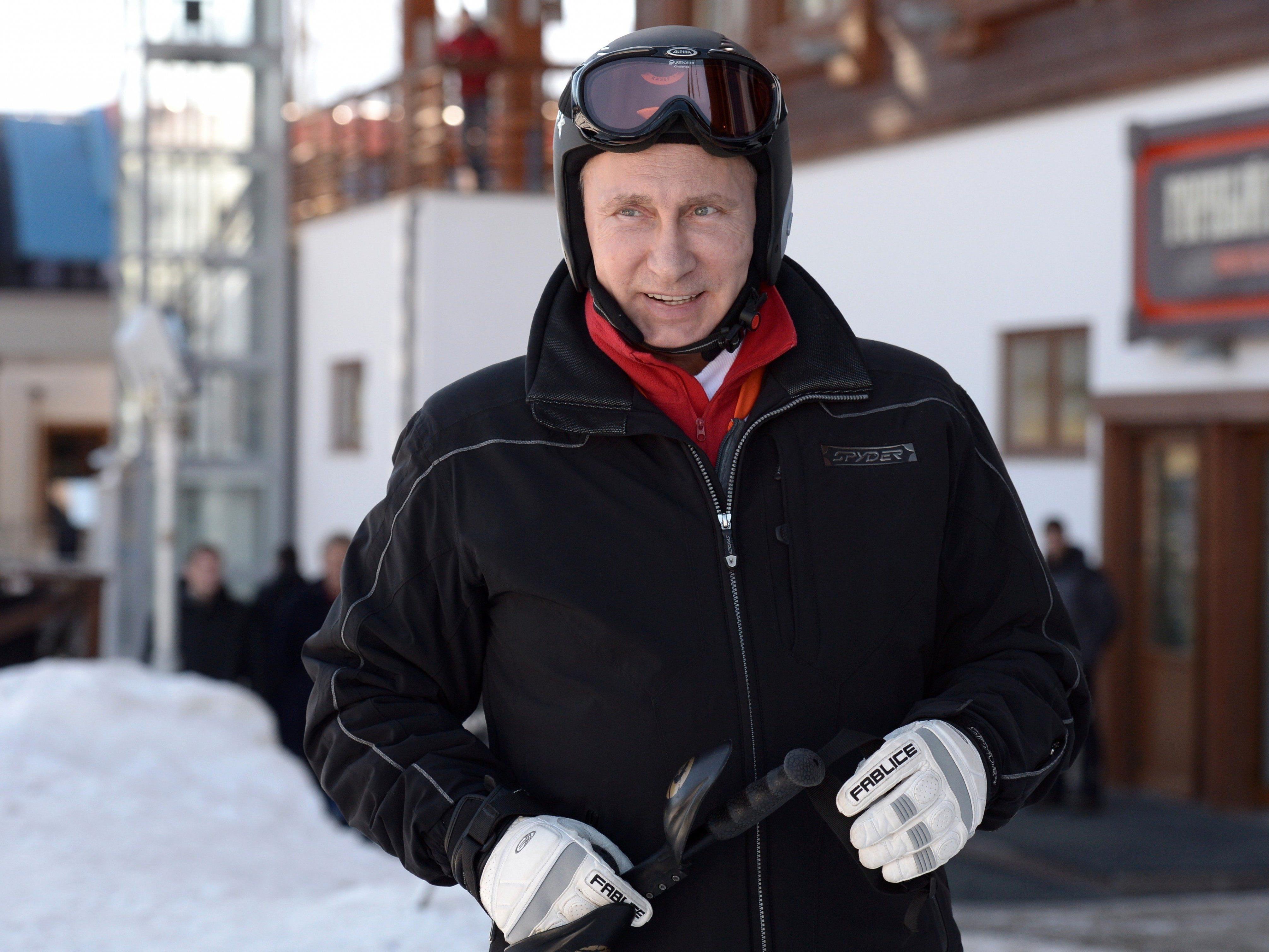 Auch Wladimir Putin soll in Zukunft mit Schnee im Gepäck anreisen.