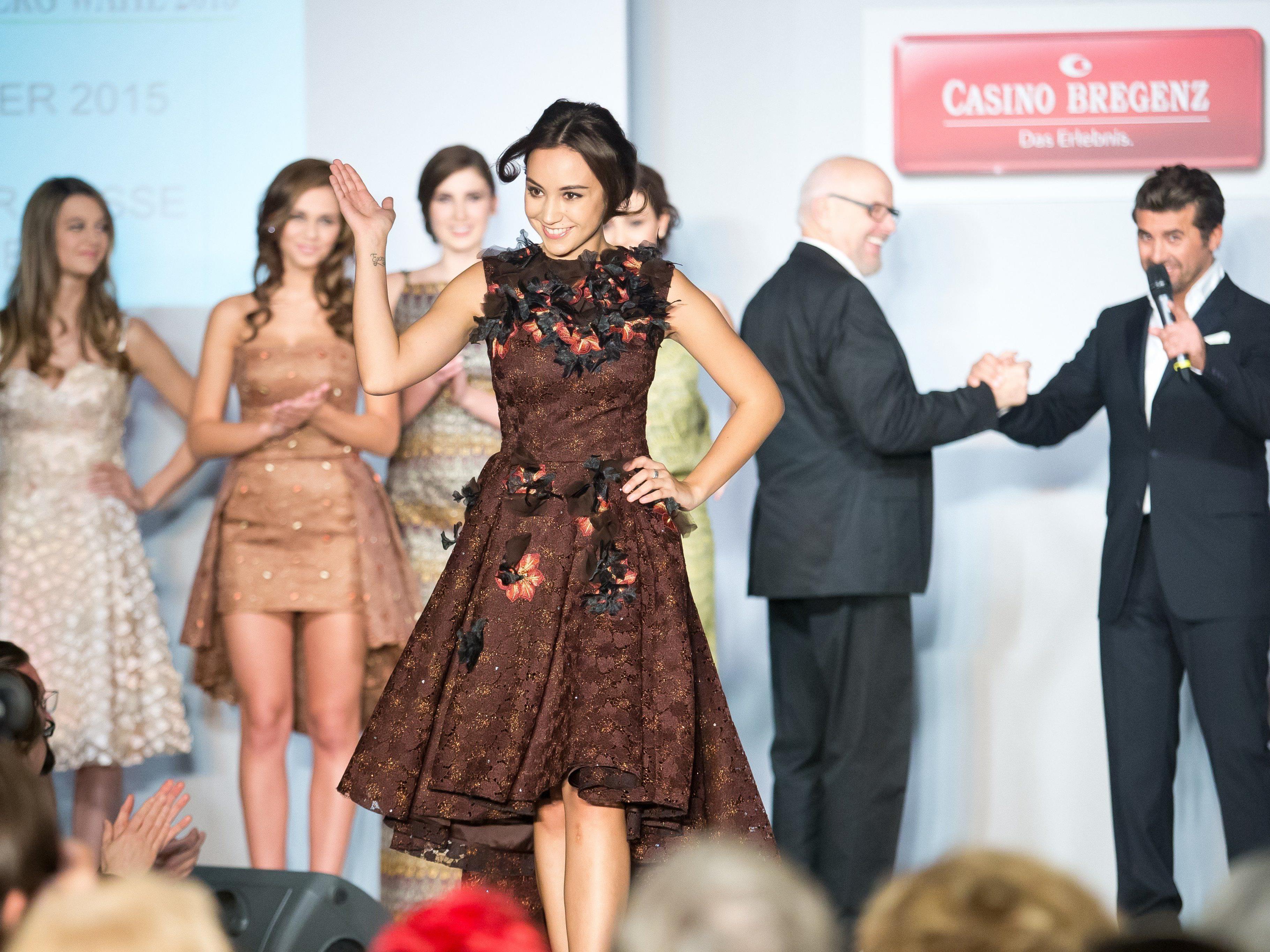 Gala der Missen: Kandidatinnen präsentierten sich im Casino Bregenz.