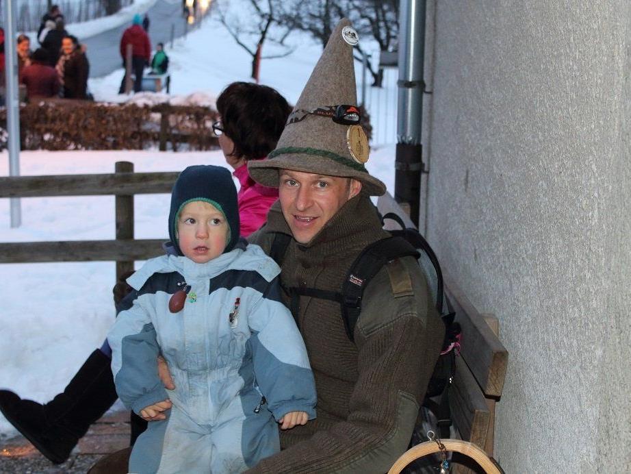 Der zweifache Vater Peter Wilhelm ist seit zwei Jahrzehnten engagierter Funkner und rief die Funkenzunft anno 1995 ins Leben.