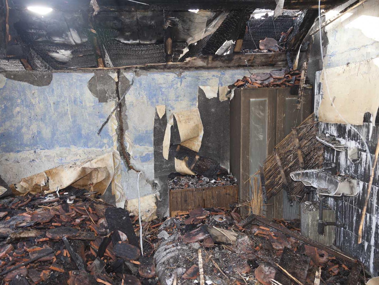 Brand im Obergeschoß eines Hauses - keine Verletzten
