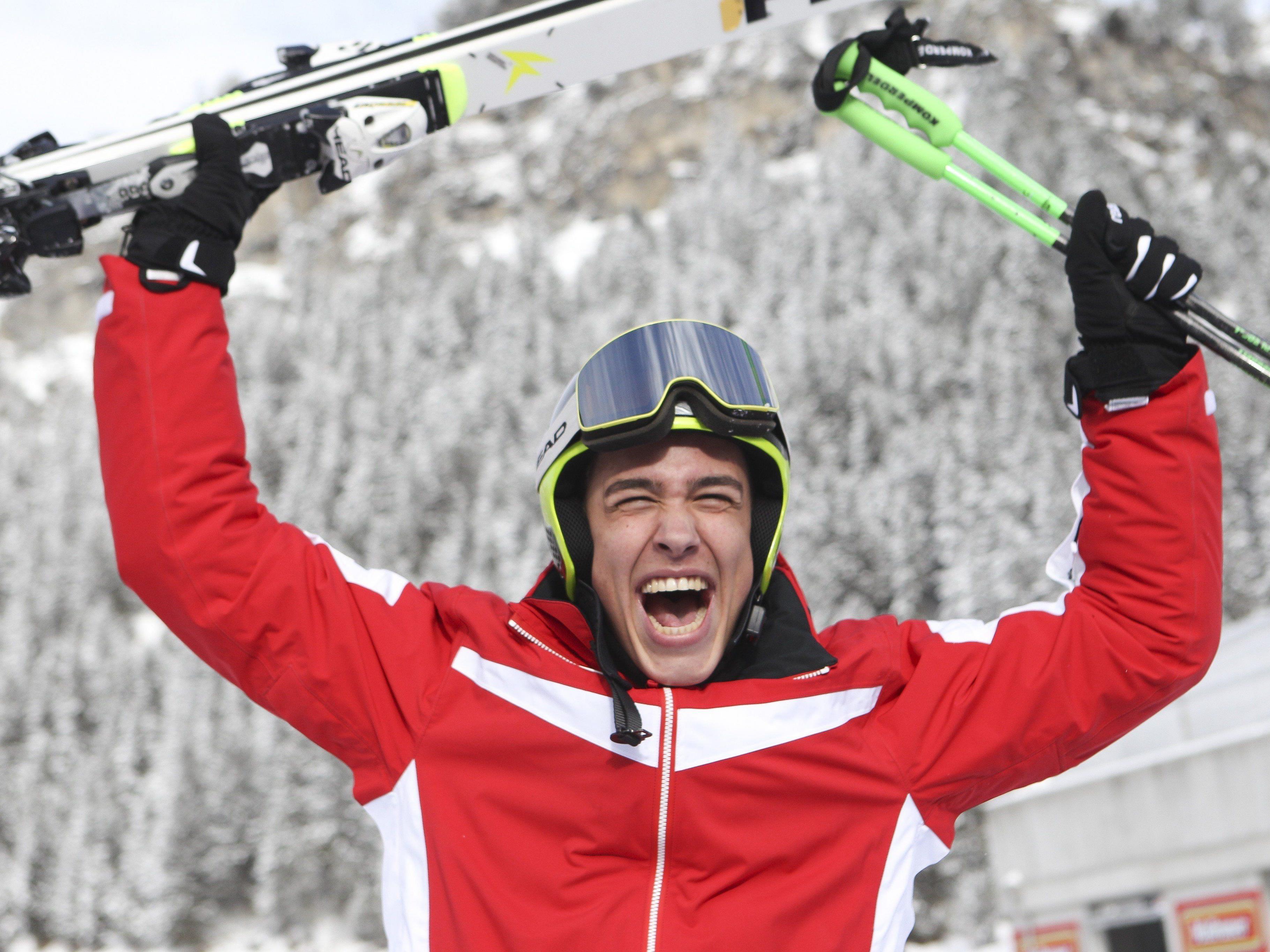 Vorarlberger Fritz holte im RTL erstes Gold.