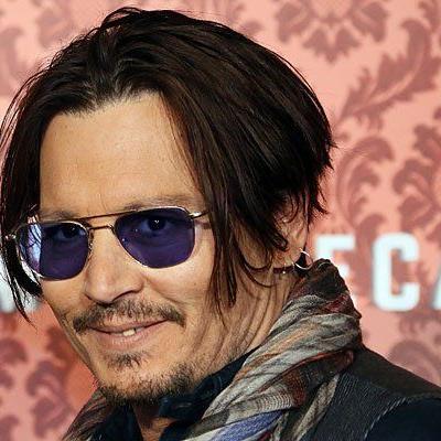 Johnny Depp beim Pressetermin in Berlin