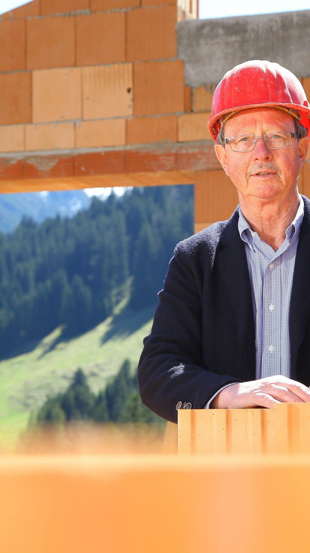 Innungsmeister Franz Drexel zieht die Bilanz zum Bau-Jahr 2014.
