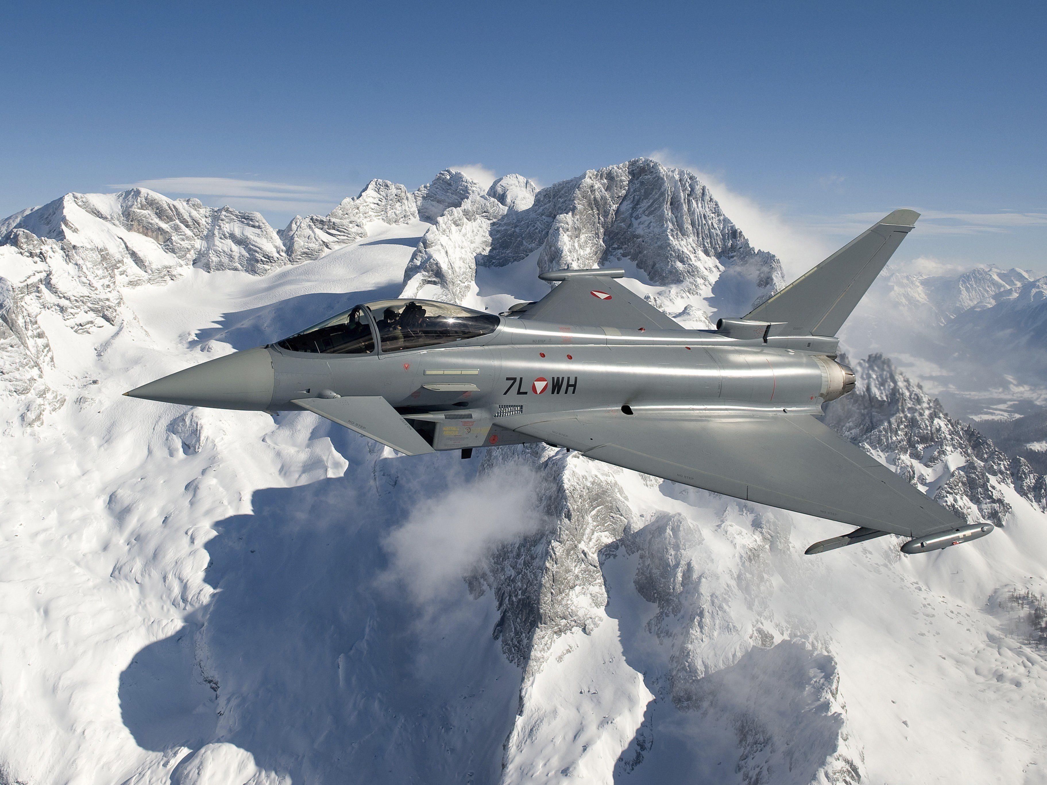 Die Vorarlberger dürfen sich auf einige Eurofighter-Tiefflüge gefasst machen.
