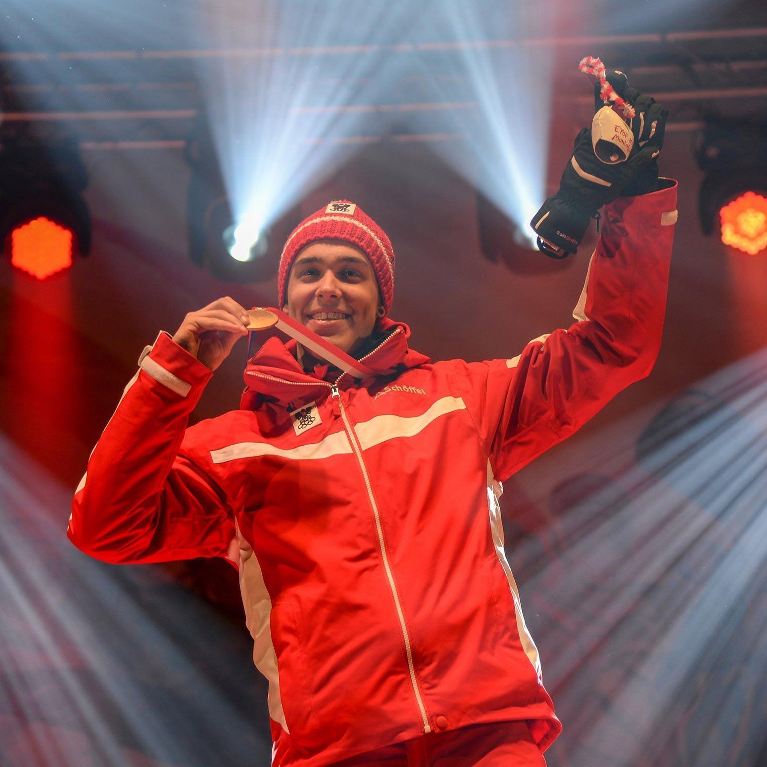 Pascal Fritz, Goldmedaille-Gewinner bei der EYOF 2015