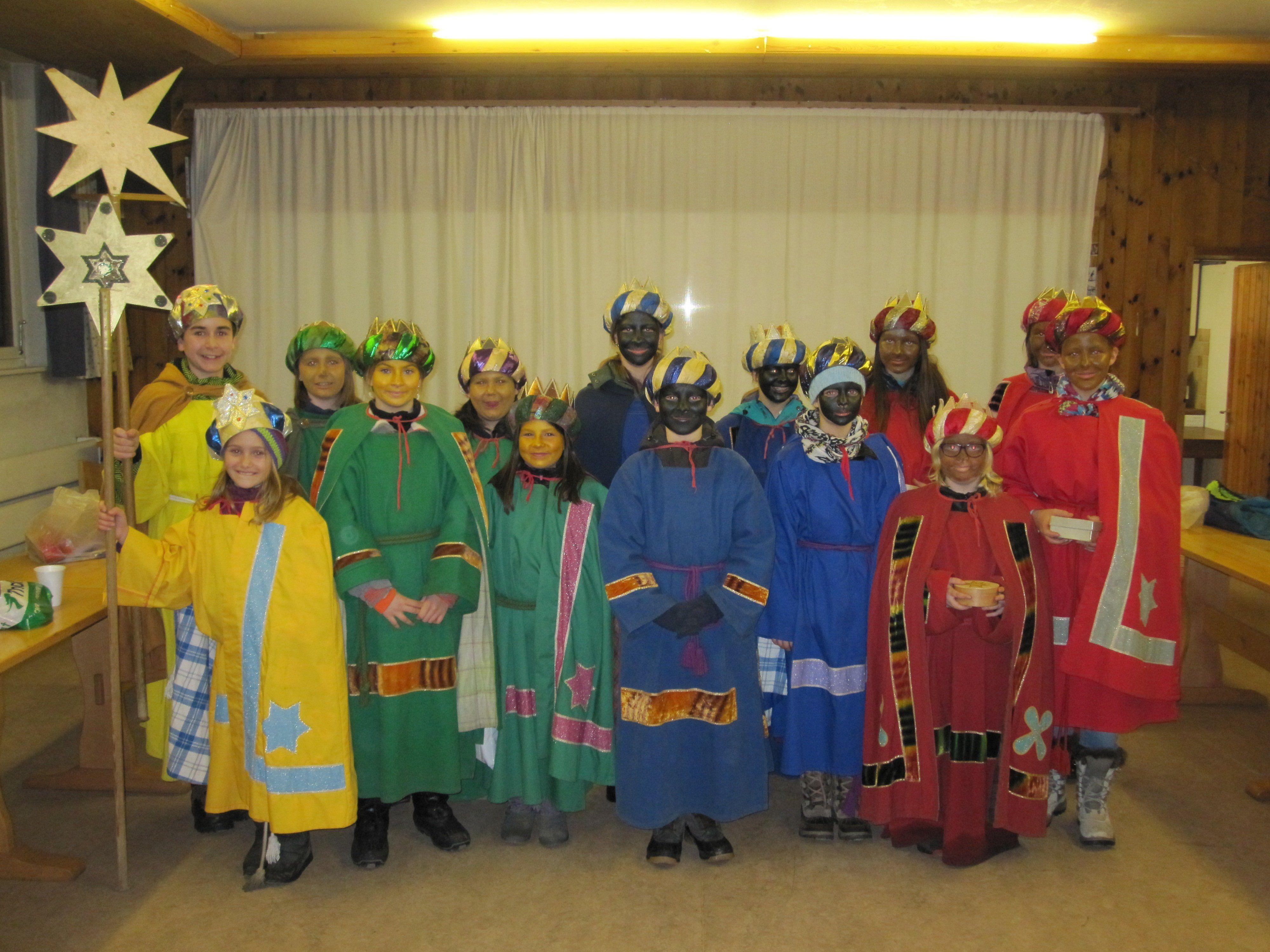Die Königskinder sorgten heuer für einen Spendenrekord in Vandans.