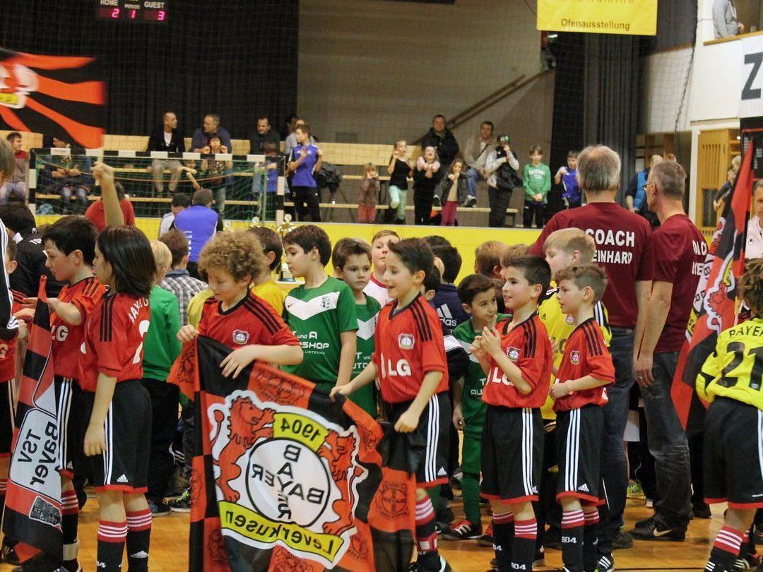 Am Freitag, 30. Jänner werden die U9 Mannschaften ab 17 Uhr am Sportplatz Untere Au in Schlins begrüßt.