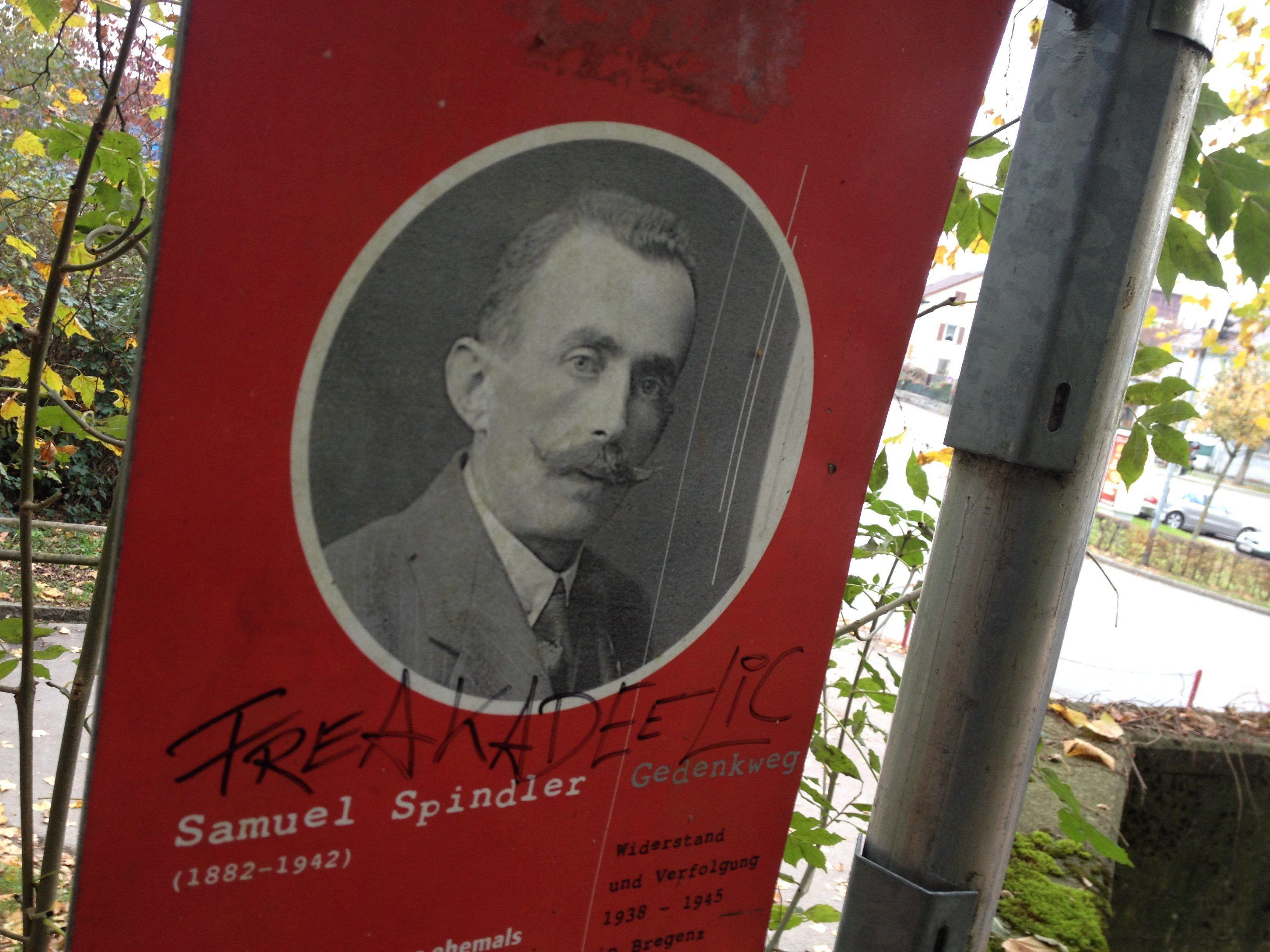 Der Bregenzer Samuel Spindler (1882 . 1942) wurde von den Nazis verfolgt und in den Tod getrieben.