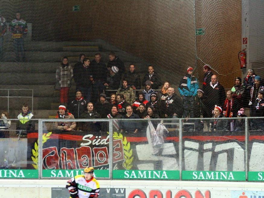 Konsequenzen für die VEU Feldkirch Fans nach dem Vorfall in Zell am See sind nicht auszuschließen