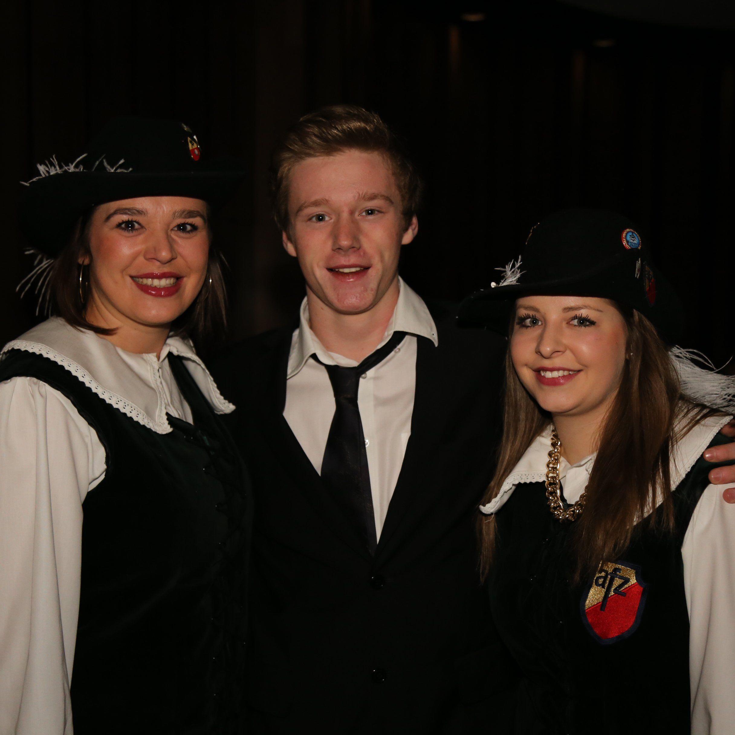 Franziska, Richard und Antonia vom AFZ.