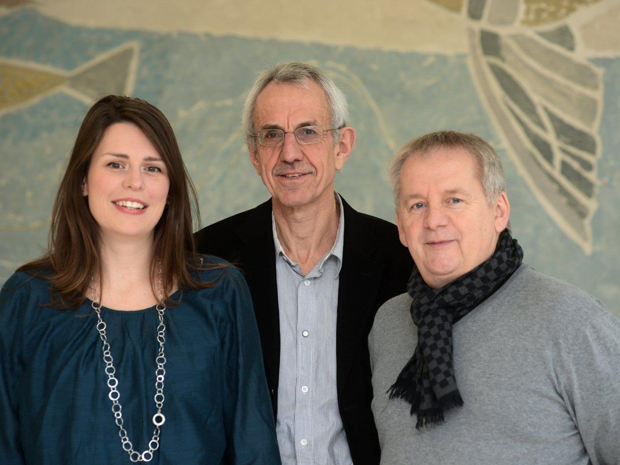 Auf den ersten drei Plätzen: Vera Köpruner, Werner Nesensohn und Helmut Madlener (v.l.)