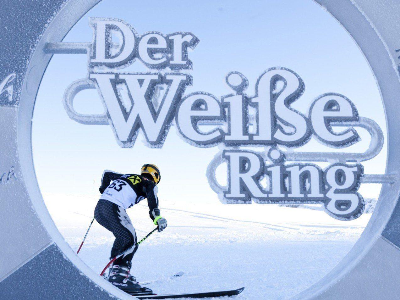 """Auf Sonntag, 17. Januar verschoben: """"Der Weiße Ring – das Rennen"""" - der Skisport-Event der Alpen."""