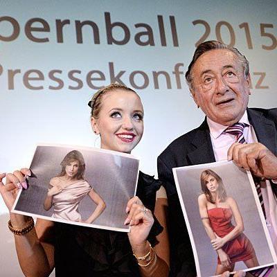 """Spatzi und Lugner präsentierten Opernball-Stargast Elisabetta """"Cardinalis"""""""