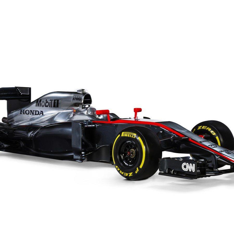 Der MP4-30 von McLaren-Honda für die Saison 2015.