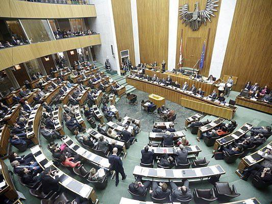 Am Mittwoch findet im Nationalrat eine Schweigeminute statt
