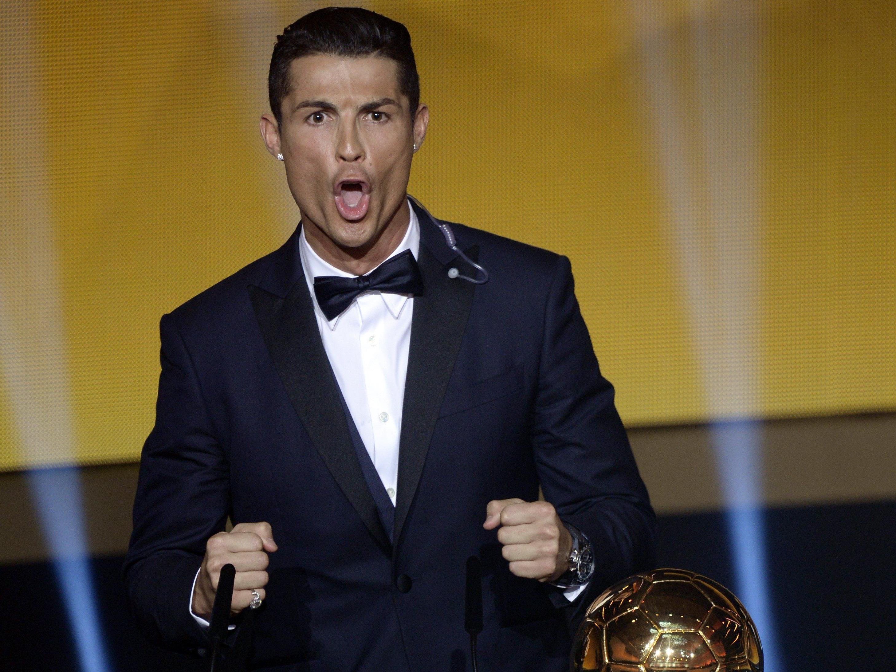 """Ronaldo: """"Ich will als der Beste in die Fußball-Geschichte eingehen."""""""