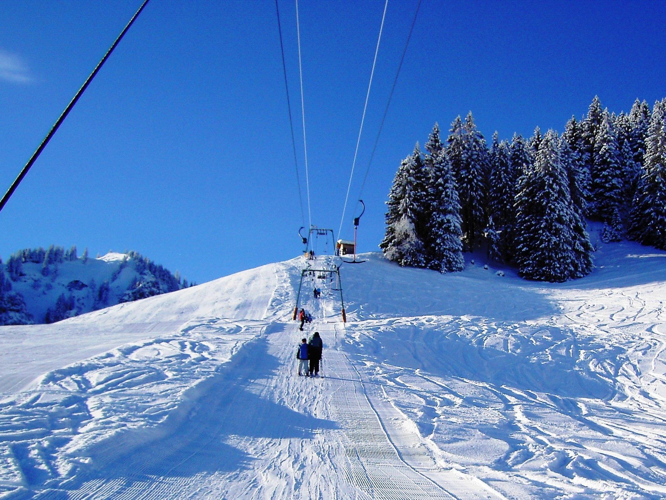 Skigebiet Schuttannen.