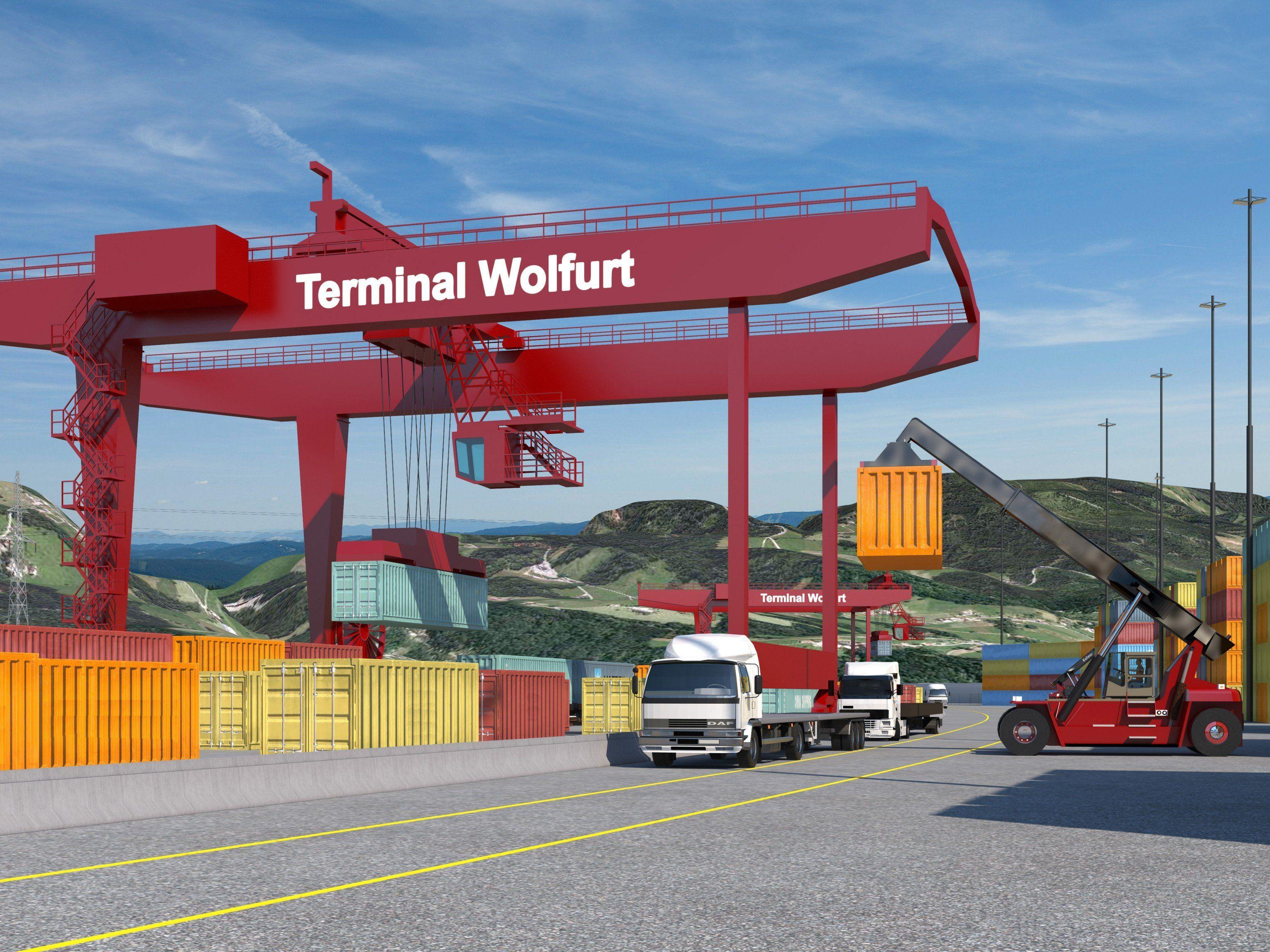 Terminal Wolfurt: 66-Millionen-Euro-Projekt ist aktuell das wichtigste Infrastrukturprojekt des Landes.