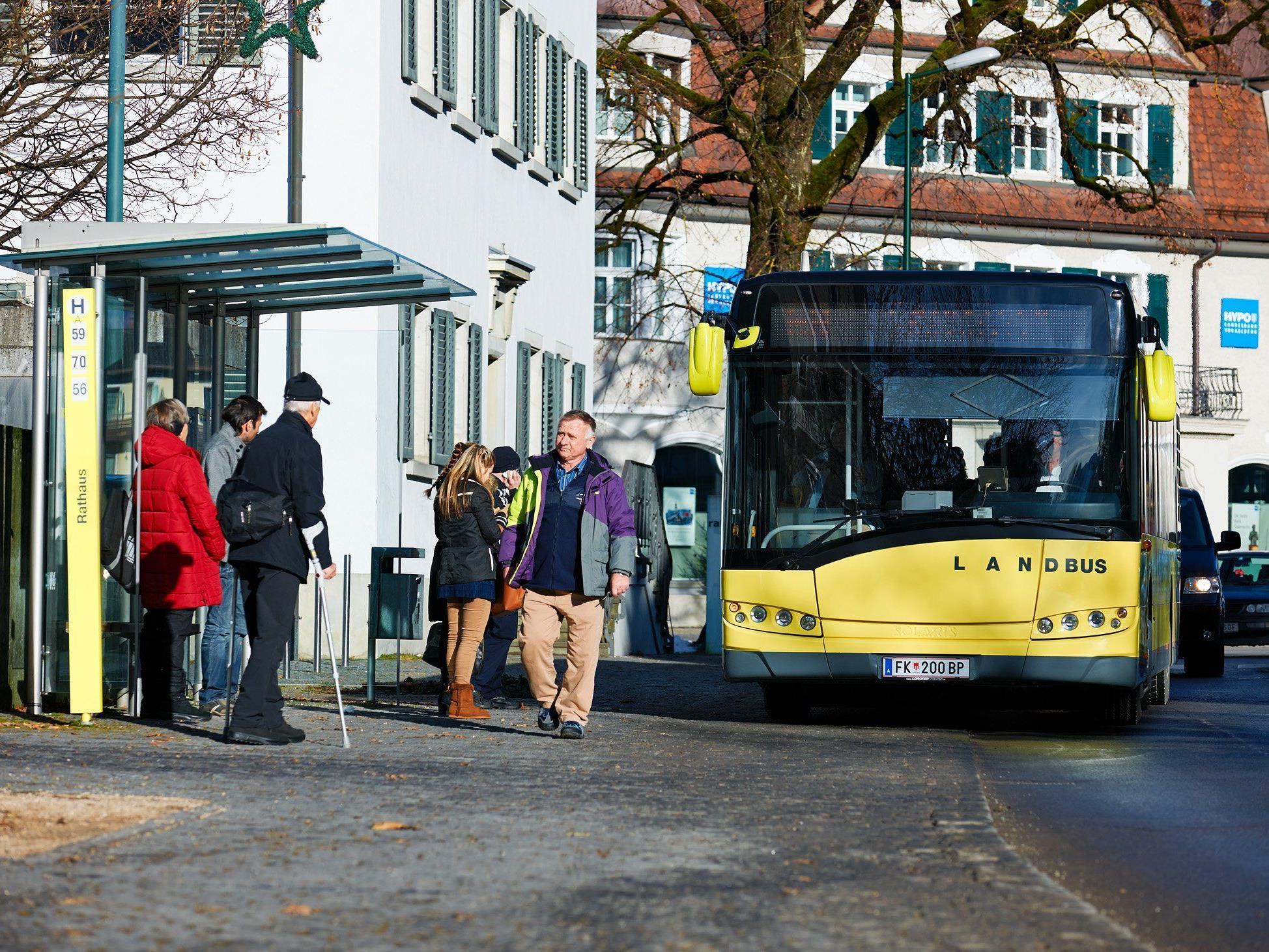 Landbus Oberes Rheintal mit Zusatzangebot.
