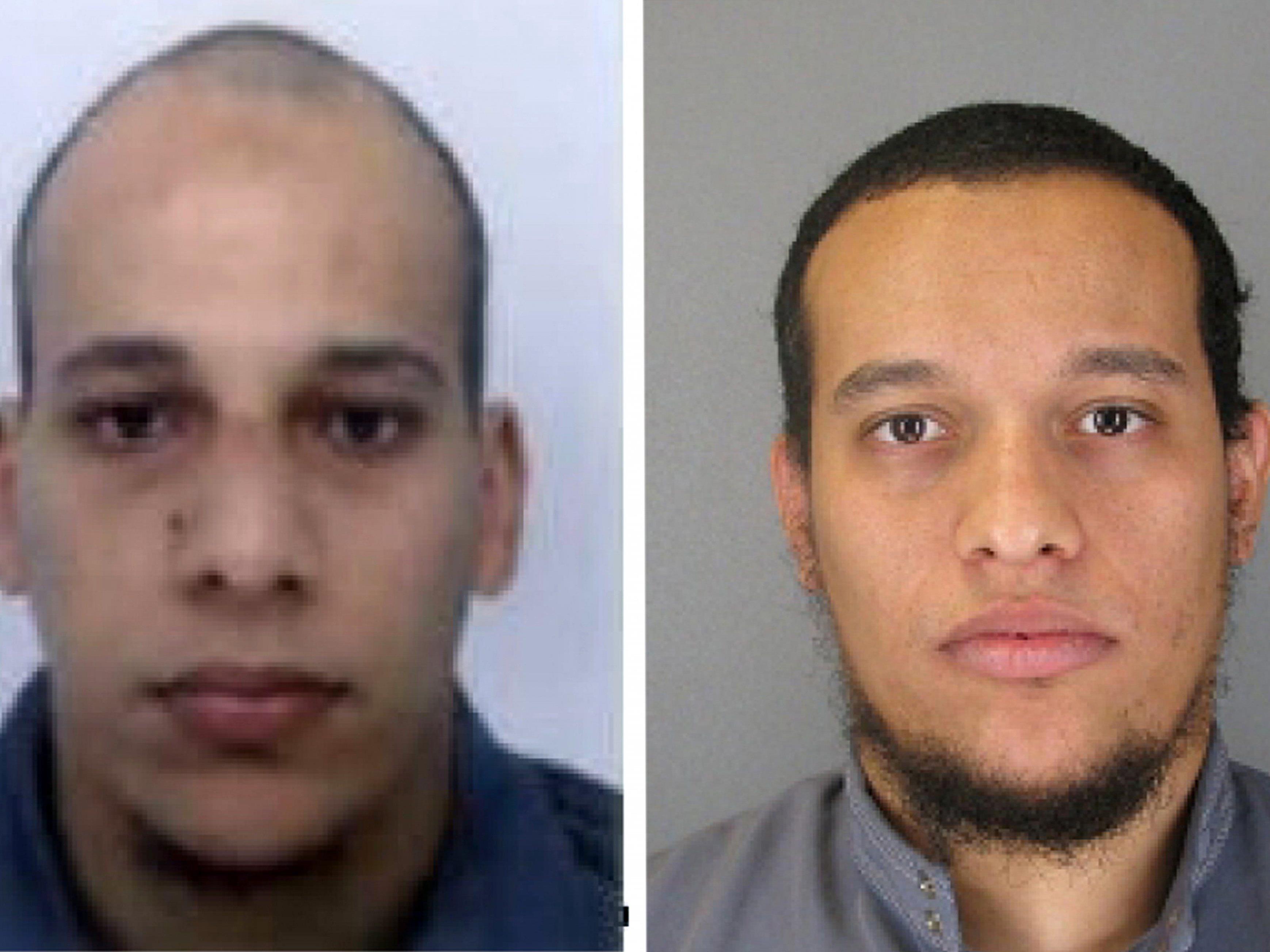 """Cherif (links) und Said Kouachi als """"Charlie Hebdo""""-Attentäter gesucht"""