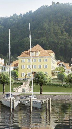 i+R Dietrich Wohnbau realisiert individuell gestaltete Villen am Bodenseeufer