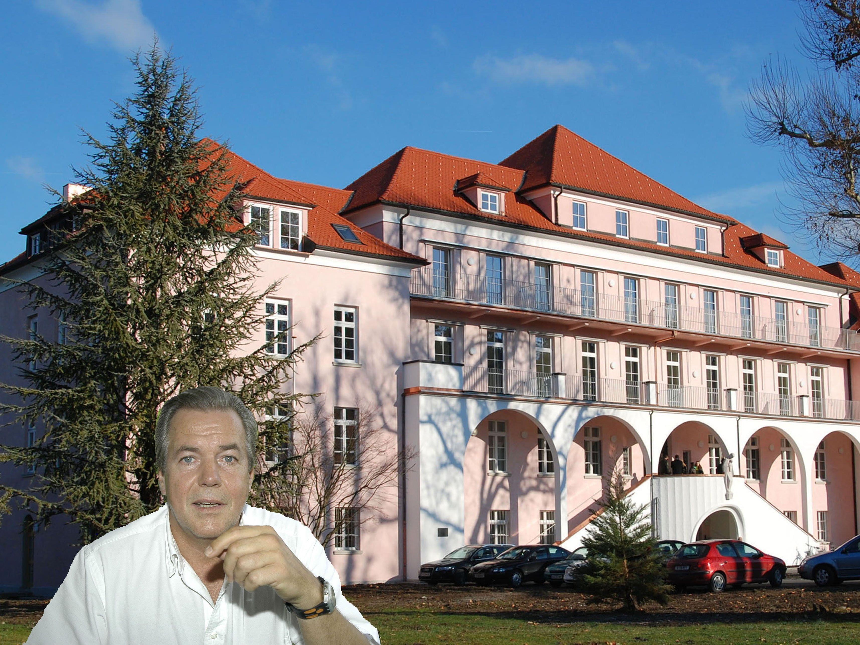 Dr. Rudolf Brugger spricht sich für eine Tageschirurgie am Sanatorium Mehrerau aus.