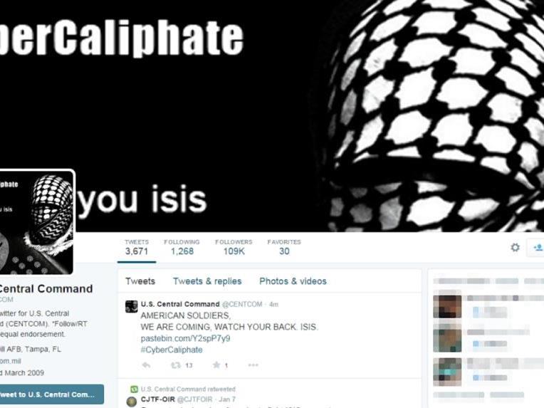ISIS-nahe Hacker übernahmen einen Twitter-Account des US-Militärs.
