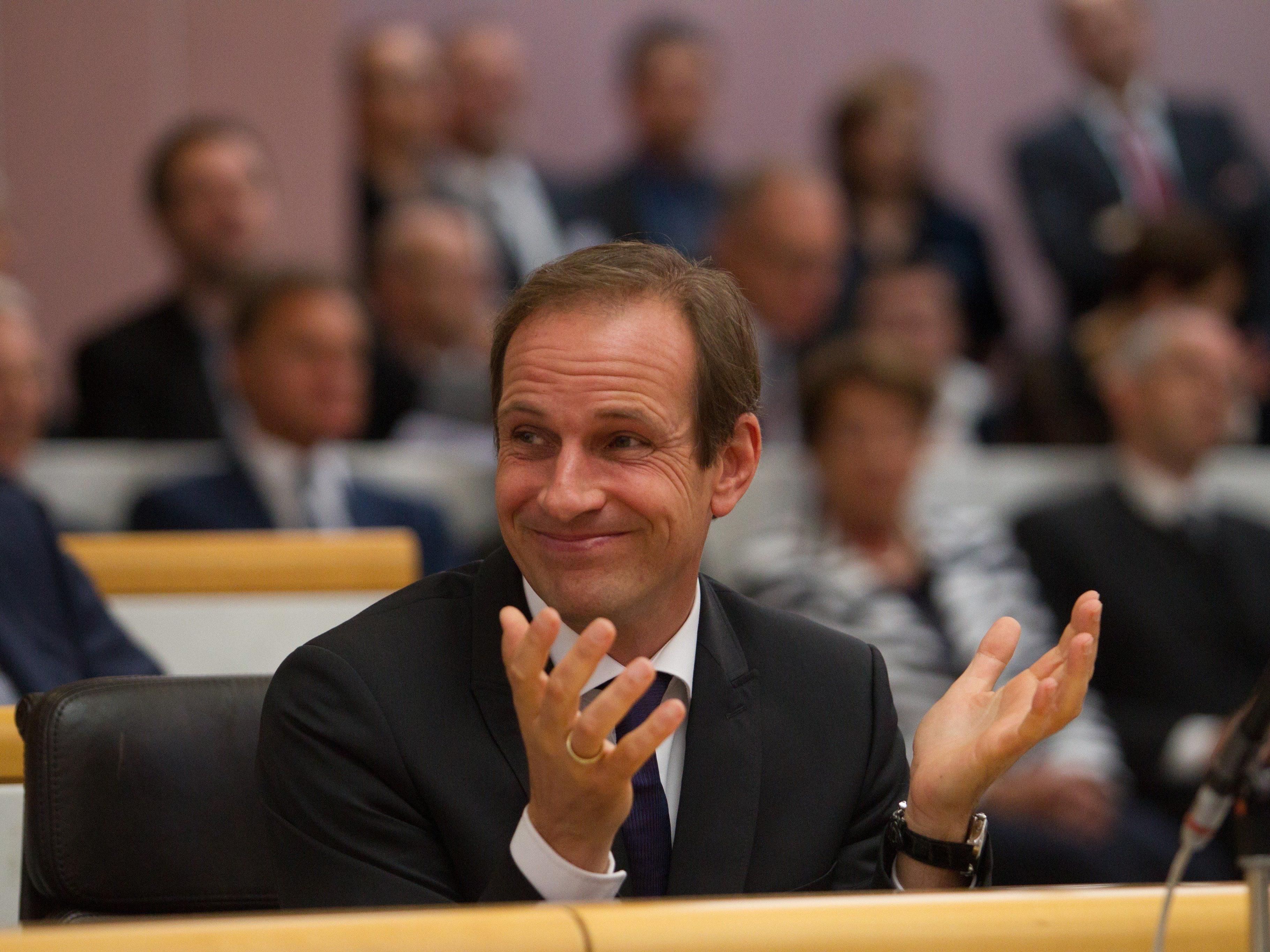 (Noch-?)FP-Landeschef Dieter Egger tritt in Hohenems als Bürgermeisterkandidat an.