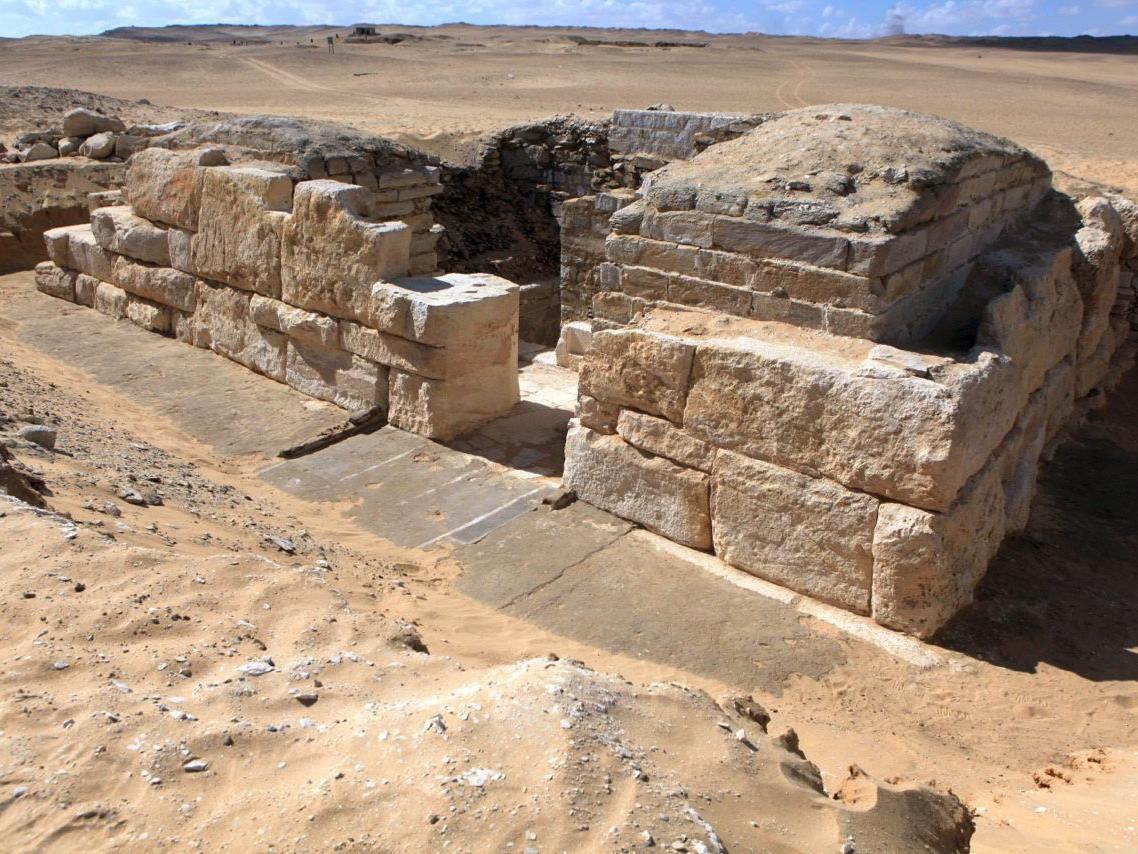 Grabmal von Khentakawes III. in Abu Sir entdeckt.