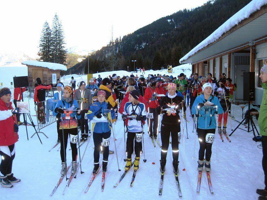 Ski Orienteering Weekend im Sportpark Sulzberg.