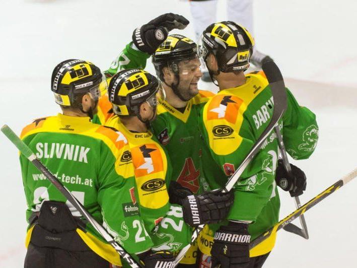EHC Lustenau ist im Heimspiel gegen Kapfenberg Favorit.