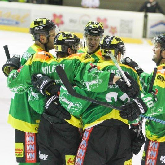 EHC Lustenau gewinnt im Ö-Cup in Kapfenberg mit 3:1.