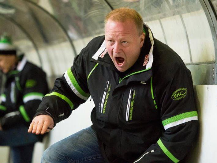 EHC Bregenzerwald-Coach Henrik Alfredsson hofft auf einen Derbysieg