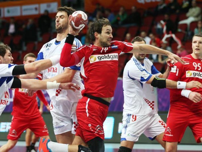 Österreich unterliegt Kroatien nur knapp