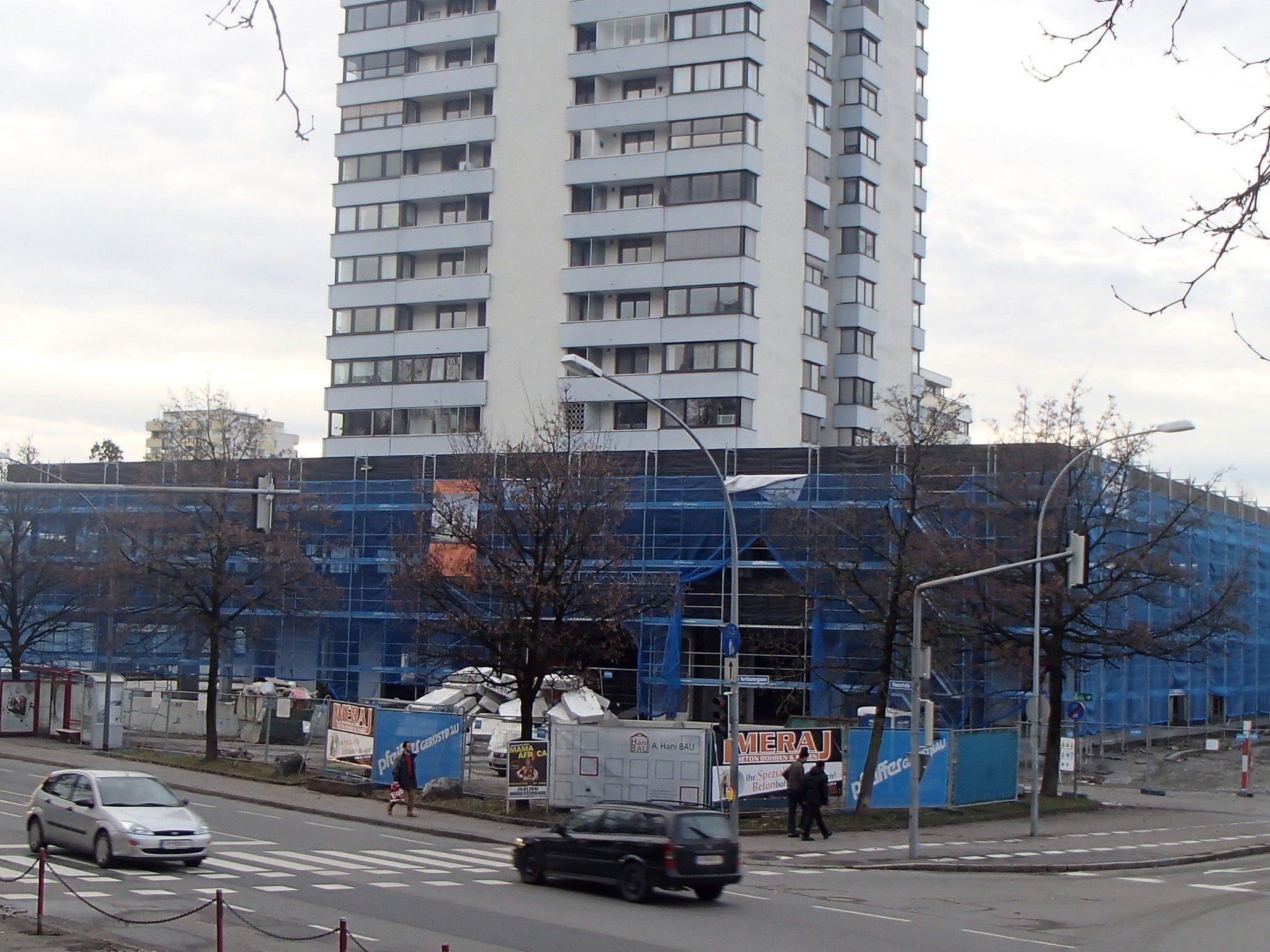 So präsentierte sich die Baustelle am 12. Jänner.