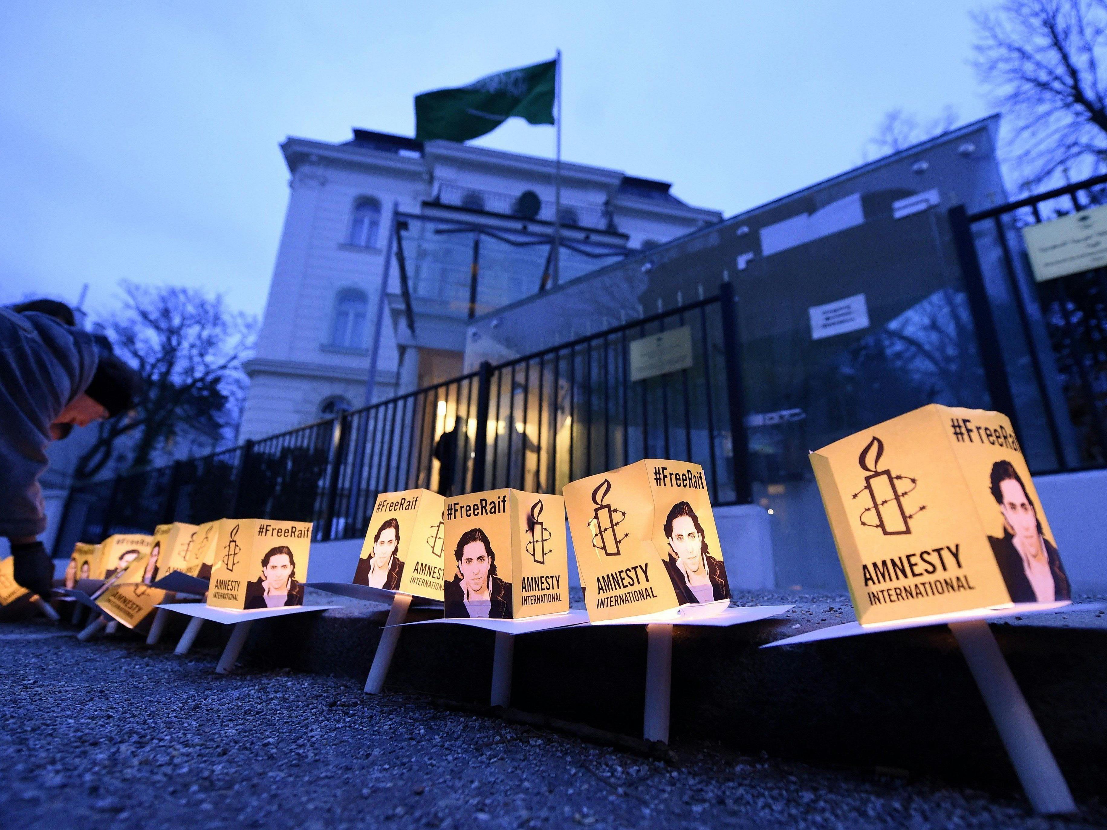 Trotz internationaler Kritik droht Badawi die nächste Tranche an Stockschlägen.