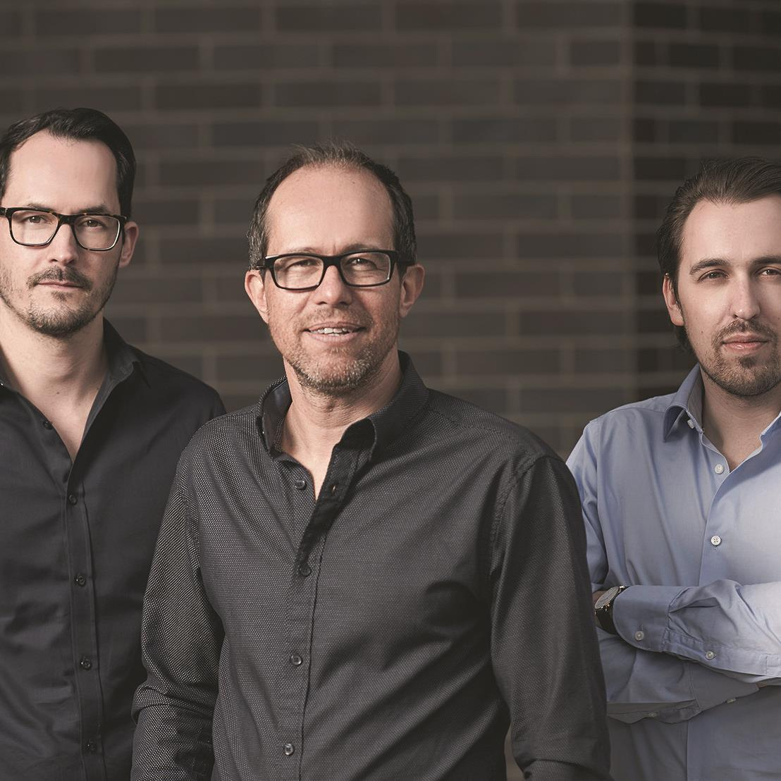 Das Führungs-Trio von go biq: Florian Salzmann, Sergej Kreibich und Manuel Berninger. (v.l.)
