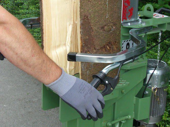 Eine wichtige Voraussetzung für die Arbeit mit Holzspaltern ist das optimale Gerät.