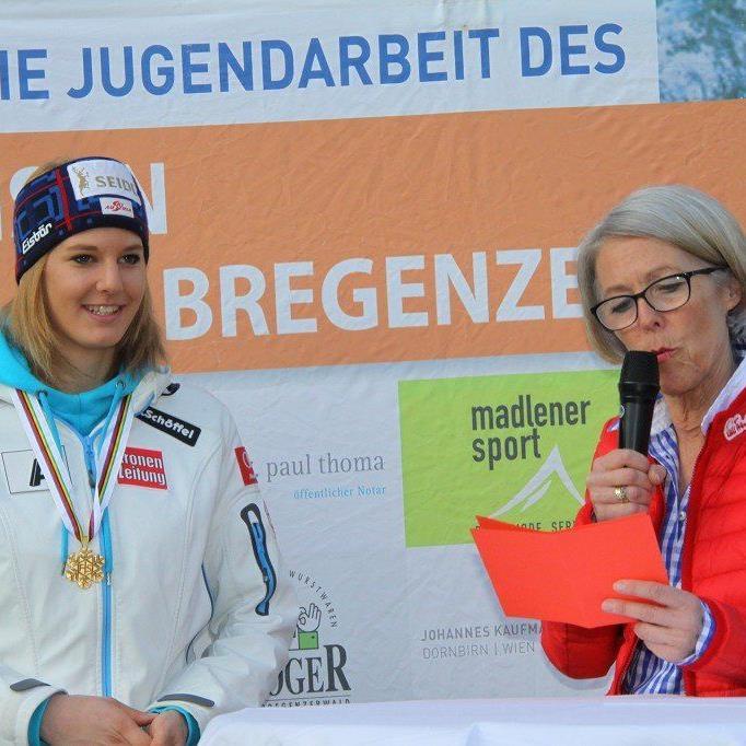 Weltmeisterin Lisl Kappaurer konnte sich nicht in den Top Ten platzieren.