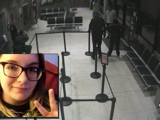 Die 17-jährige Kristiana wurde im Foyer einer Polizeiwache in Longview erschossen.