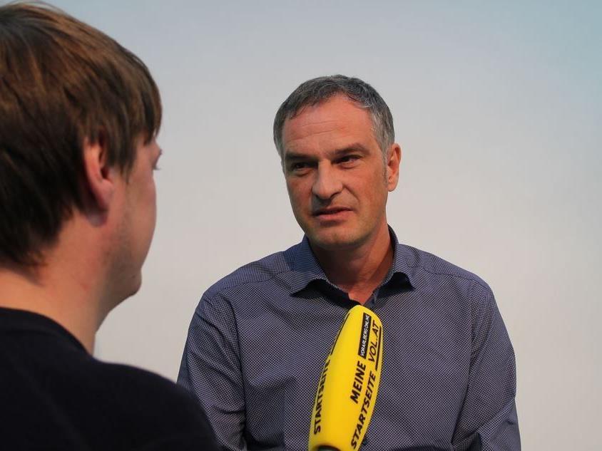 Mario Leiter im VOL.AT-Interview über seine Bürgermeister-Kandidatur.