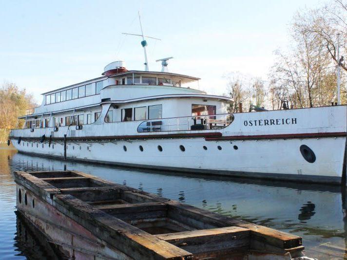 """Die """"MS Österreich"""" soll wieder in See stechen."""