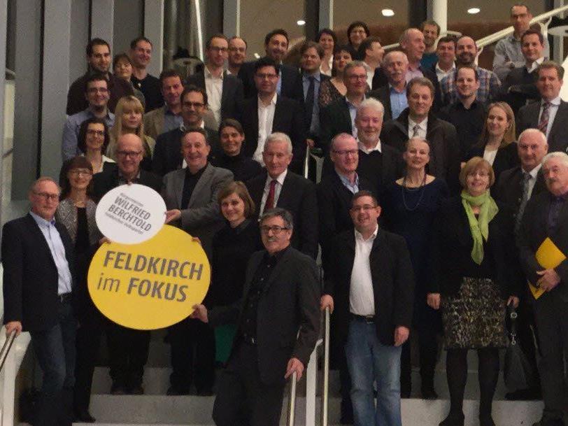 Kandidaten der ÖVP Feldkirch